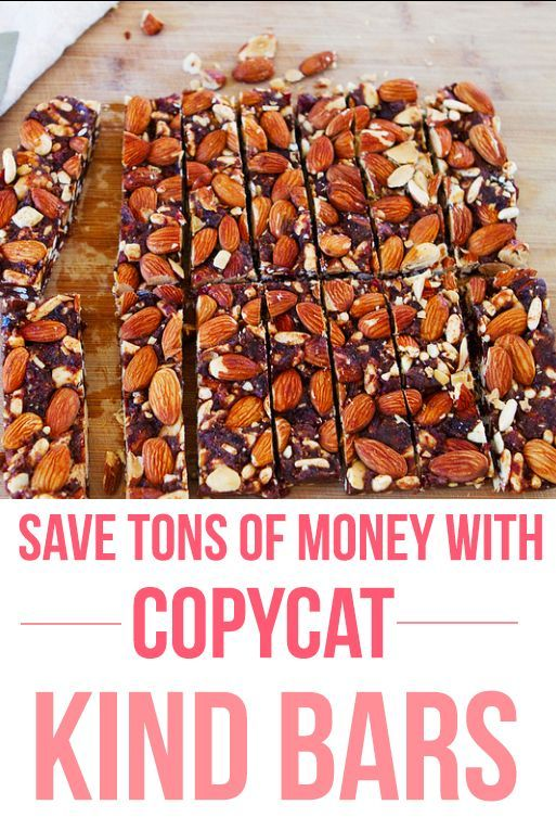 Copycat Kind Bars - Almond Coconut & Dark Chocolate Sea Salt.