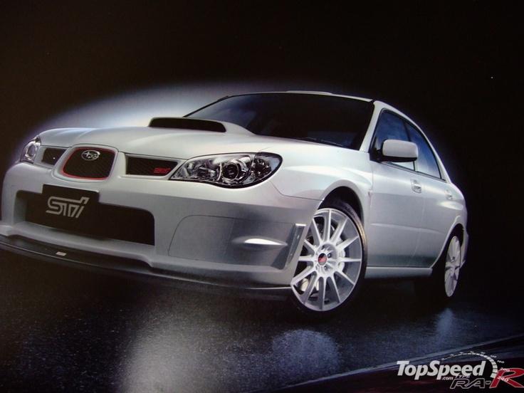 Subaru WRX STi spec C TYPE RA-R - the ultimate factory JDM GD Impreza