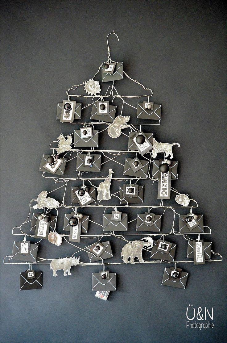 Überall & Nirgendwo: Wire - Adventdskalender aus Drahtkleiderbügeln und als…