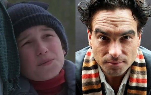 The third actor to play Rusty Griswold in 'National Lampoon's Christmas Vacation', Johnny Galecki now plays experimental physicist Leonard Hofstadter on the hit comedy 'The Big Bang Theory'.
