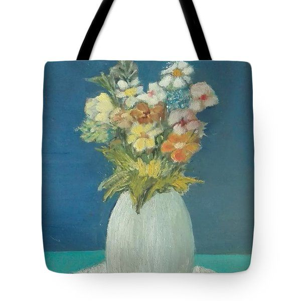 Tote Bag featuring the painting Cl 014 by Camillo Liardi