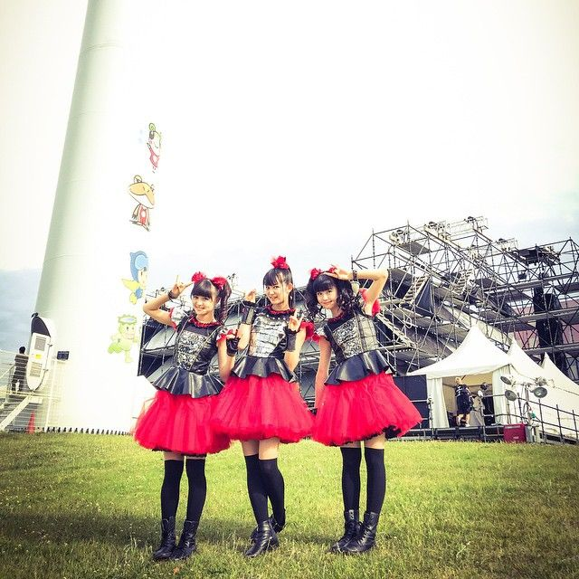 METROCK2015!!16:30からWINDMILL FIELDでスタートDEATH!!Are you ready?‪#‎BABYMETAL‬ ‪#‎メトロック‬ ‪#‎METROCK‬