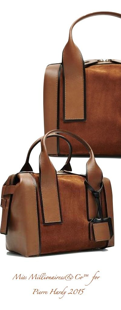 Pierre Hardy 2015 - Leather & Suede Tote