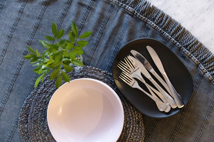 Our new Stonewash Round Towel also makes a great tablecloth! 💕 www.knotty.com.au