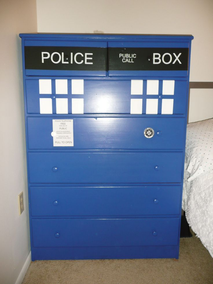 Delightful How To Paint Tardis On Dresser   Google Search
