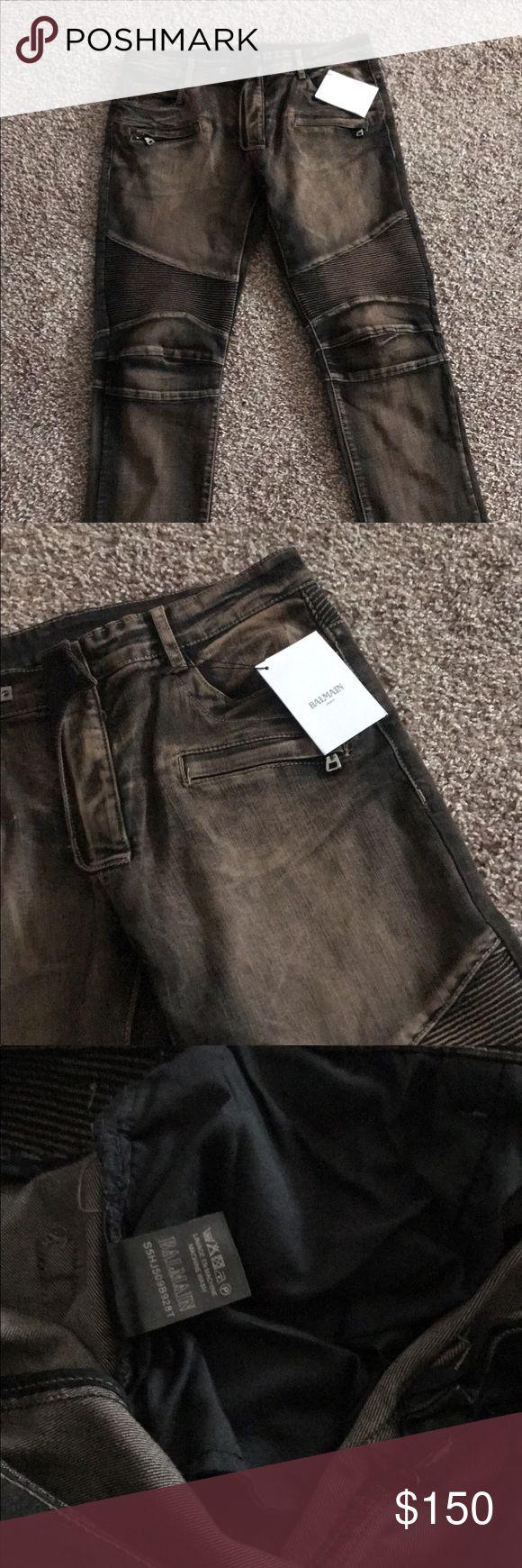 Balmain jeans Balmain jean 3 left Balmain Jeans Straight