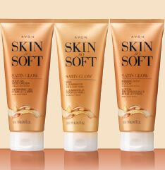 Image result for skin so soft satin glow