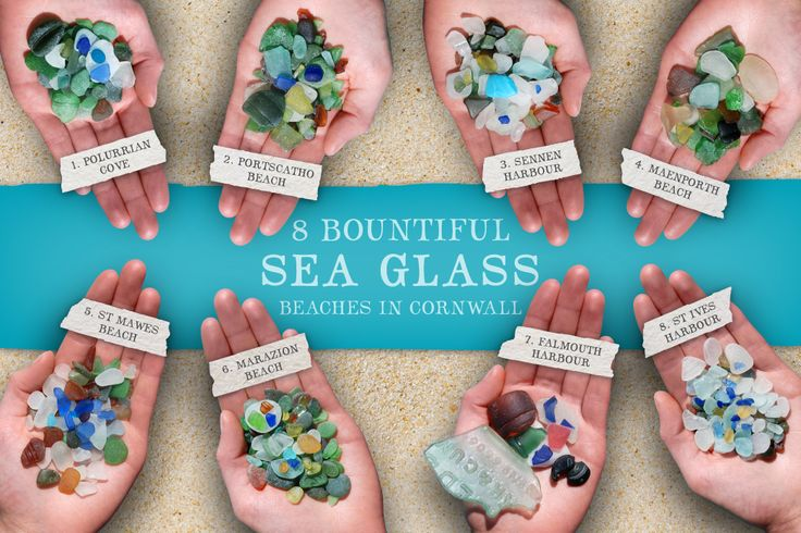 Our beaches are scattered with little translucent treasures, but some are more bountiful than others. Here are 8 of the best sea glass beaches in Cornwall.