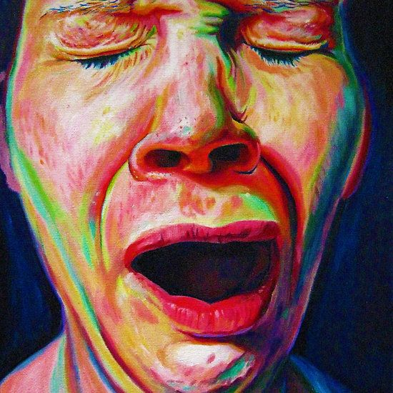 The Yawn by Natalie Britten Available as Cards and Prints http://www.redbubble.com/people/natbritten/shop