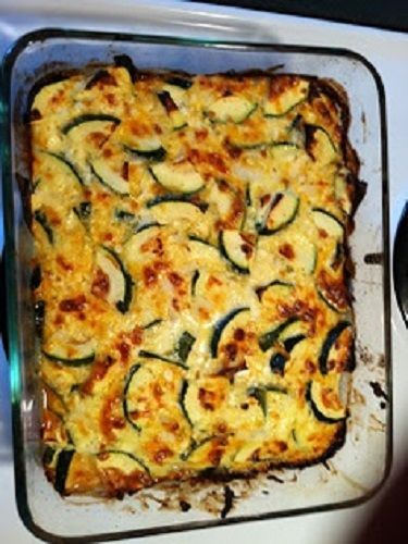 Low carb vegetarian recipes : THE Best Zucchini Casserole Recipe!