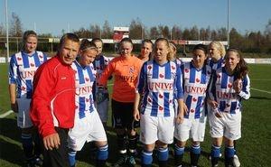 Doorstart vrouwenvoetbal Heerenveen