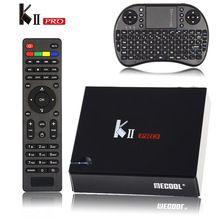 [Genuine] KII Pro Tv Box DVB-T2 DVB T2+S2 Amlogic S905 Quad-core 2GB/16GB Android 5.1 Tv Box Bluetooth 2.4G/5G Wifi Set Top Box