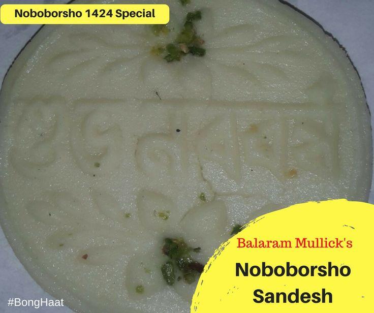 Authentic Bengali Noboborsho  Sandesh