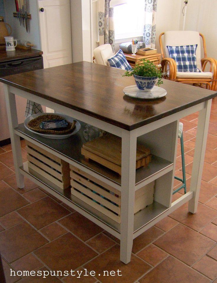 Ikea kücheninsel stenstorp  Die 25+ besten Ikea freestanding kitchen Ideen auf Pinterest ...
