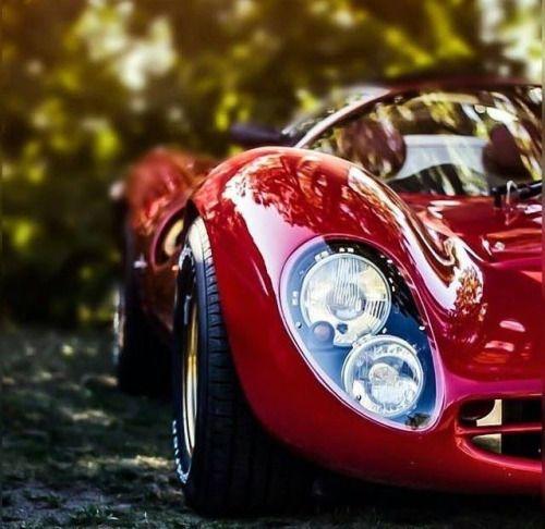 Ferrari P4 - Detalhe dos faróis.