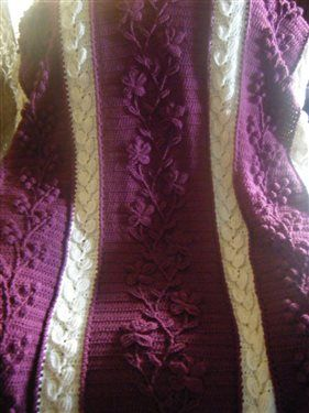 Floral Cascade Afghan - Media - Crochet Me