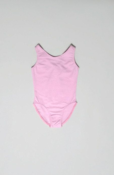 Girls Pink Ballet Bodysuit by JustMyStyleBoutique on Etsy