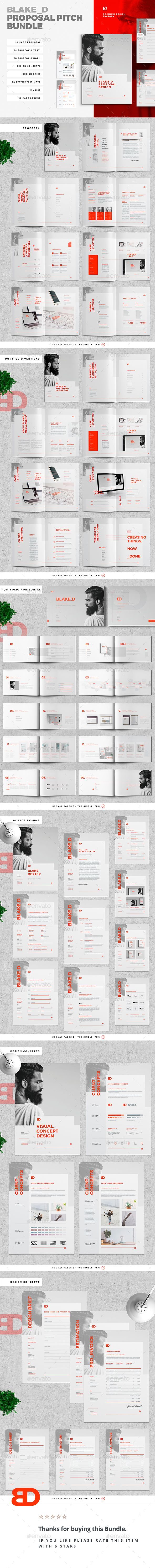 Proposal Template INDD Bundle