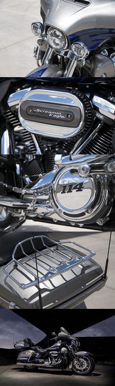 If you want best-in-class power, infotainment, paint and comfort for you and your passenger, this is your bike.   2017 Harley-Davidson CVO Limited
