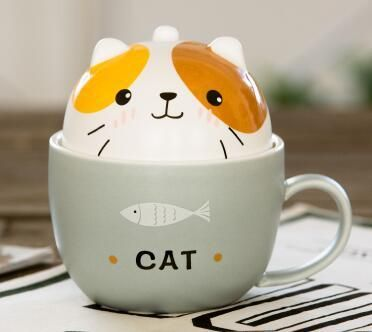 Get a Cafe Cat Ceramic ... with FREE shipping today! Click the link to purchase: http://cuteftw.com/products/cafe-cat-ceramic-mug-with-lid?utm_campaign=social_autopilot&utm_source=pin&utm_medium=pin