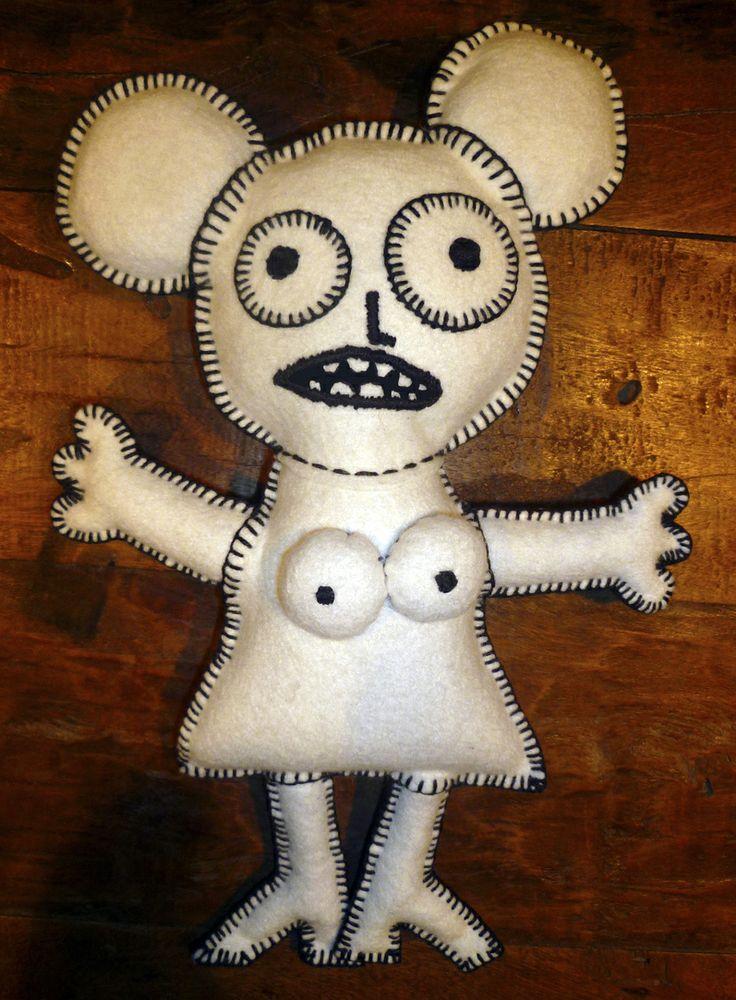 handmade doll FREE OSTASTKA
