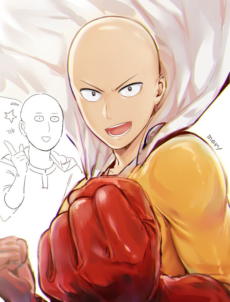 One punch man Fanart Credits to the artist