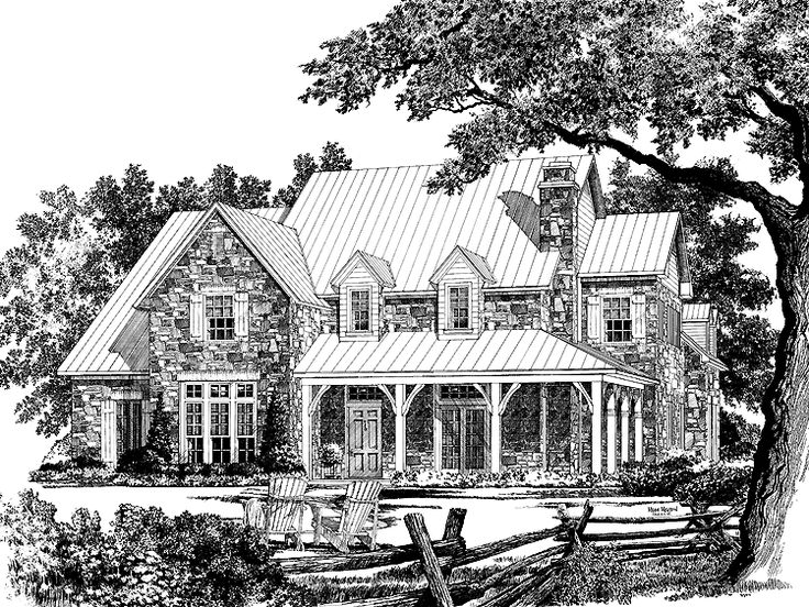 eplans country house plan lavendale from the southern living