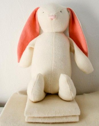 Free sewing pattern for bunny from the purlbee crafts for Bunny template for sewing