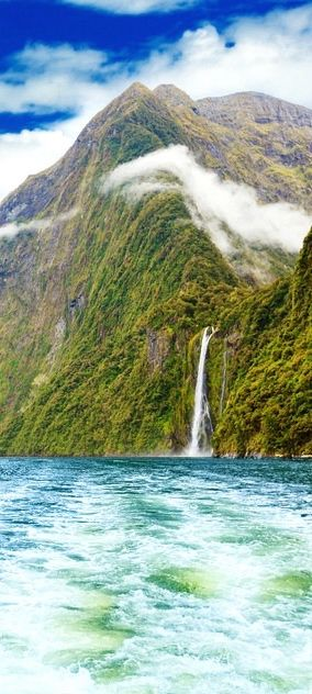 Milford Sound New Zealand...even more beautiful in person