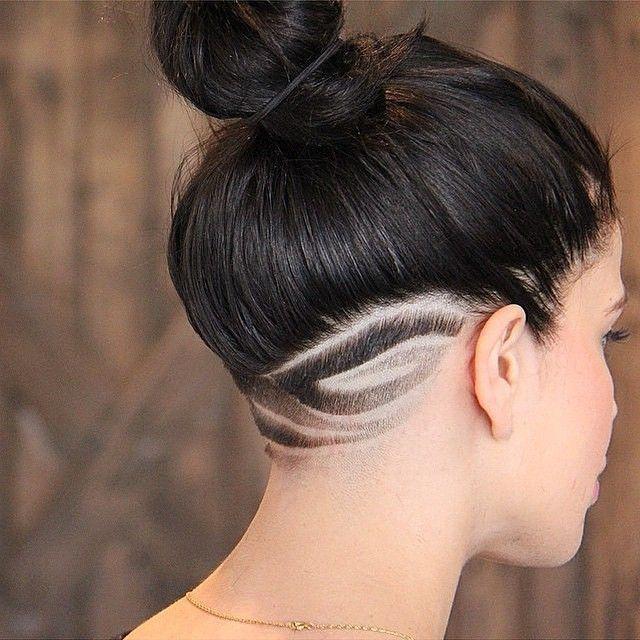 #haircut  #style  #bun