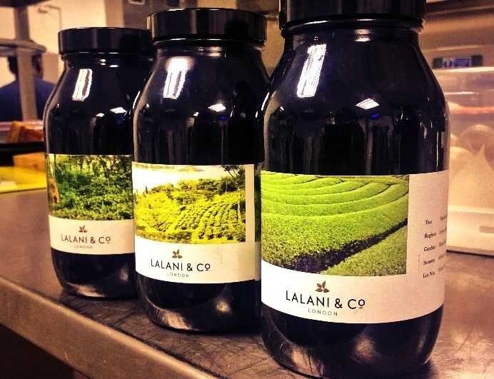 Three small batch teas ready to go.  http://www.lalaniandco.com/the-collection/