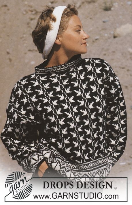 26 best Retro DROPS images on Pinterest | Free, Knitting and Alpacas