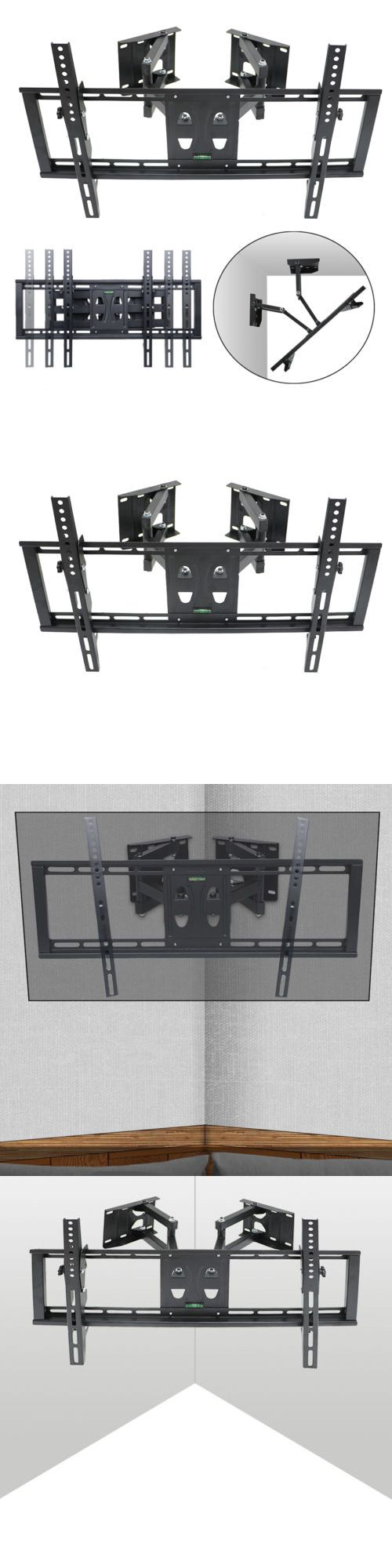TV Mounts and Brackets: Corner Full Motion Swivel Tv Wall Mount 32 36 40 42 46 50 52 55 60 65 Led 110Lbs -> BUY IT NOW ONLY: $32.92 on eBay!