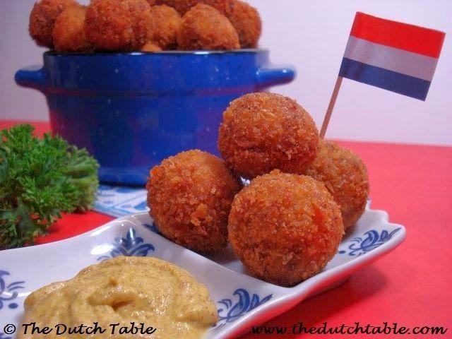 The Dutch Table: Bitterballen (Dutch deep-fried gravy)