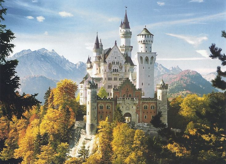 this beautiful castle in germany could be the fictional. Black Bedroom Furniture Sets. Home Design Ideas