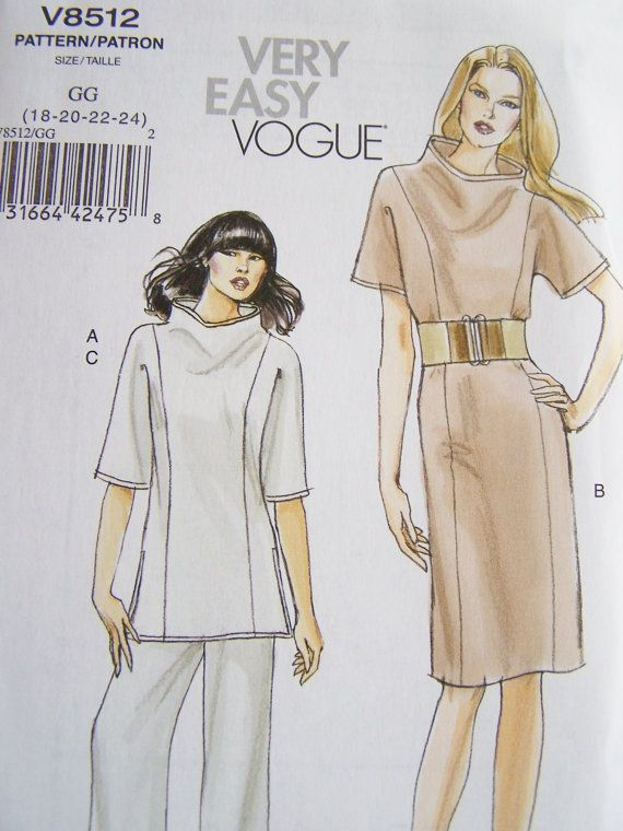 vogue v8512 very easy vogue patterns uk - Yahoo Image Search results