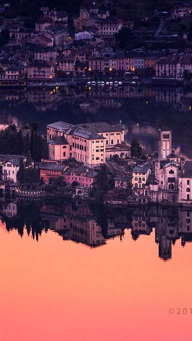 Isola di San Giulio, Boleto, Piedmont, Italy