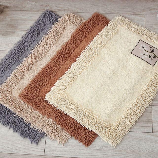 Japan Style Bath Mat Bathroom Carpet Microfiber Absorbent Anti Slip Carpet Mats For Bathroom And Toilet Bath Mats Rug Rugs On Carpet Bath Mat Rug Bathroom Rugs