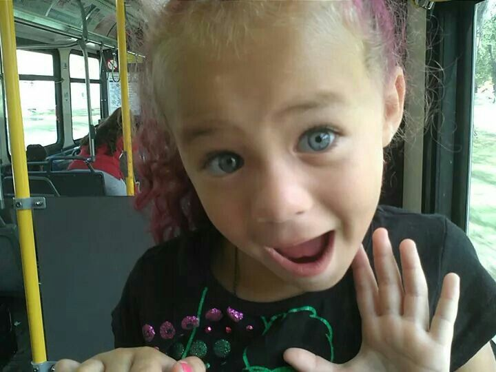 Beautiful Baby Girl With Big Blue Eyes Mixed Race Baby -9213