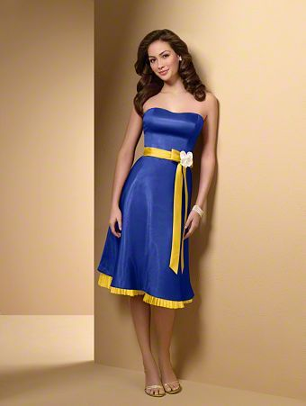 Pretty Blue and Yellow dress