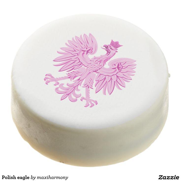 Polish eagle chocolate covered oreo