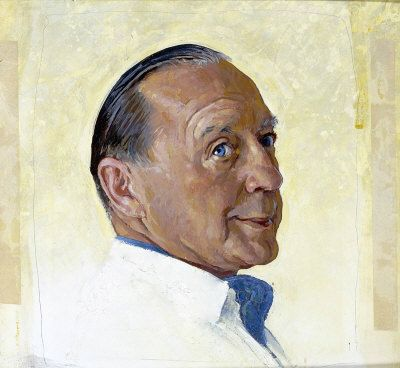 Jack Benny by Norman Rockwell
