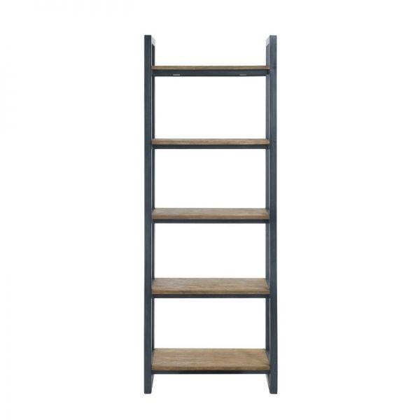 De Bommel meubelen. Boekenkast Fendy (5 planken/smal)
