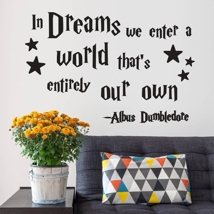 85 best quote wall decals images on pinterest in dreams we enter a world quote wall decals stickers from wall decals irelands largest range of kids wall stickers wall decals gumiabroncs Gallery