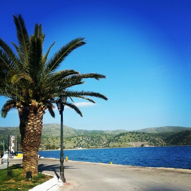 #summer_loading #astakos #port #sea
