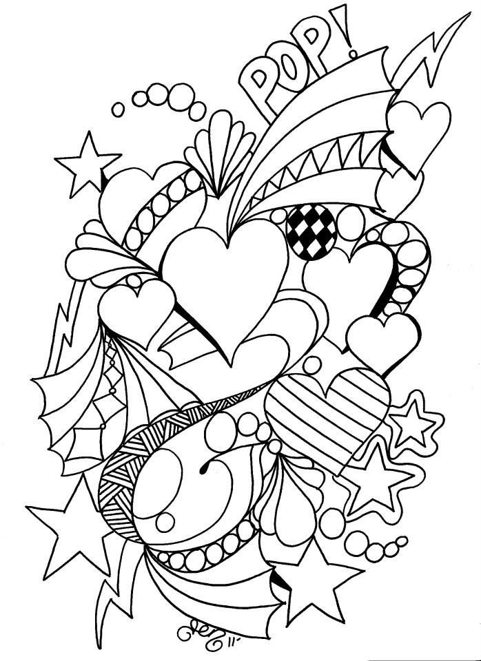 106 best Valentine Coloring Pages images on Pinterest | Coloring ...
