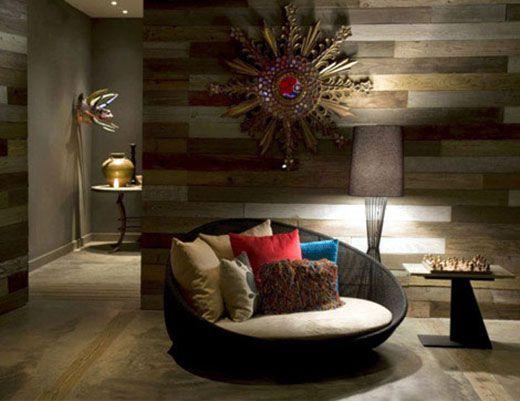 Modern eclectics love the wooden wall islandsrelaxation roomrelaxing roommeditation roomszen living roomsindian living roomsliving room decorsmall