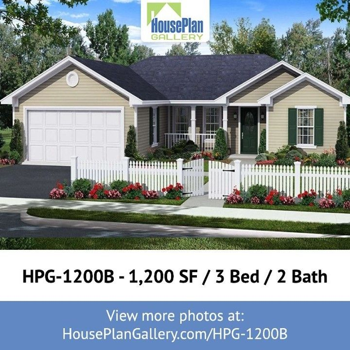 Houseplangallery Posted To Instagram Looking To Build Your Dream Home You Ll Love The Hpg 1200b Ho House Plan Gallery Build Dream Home Build Your Dream Home
