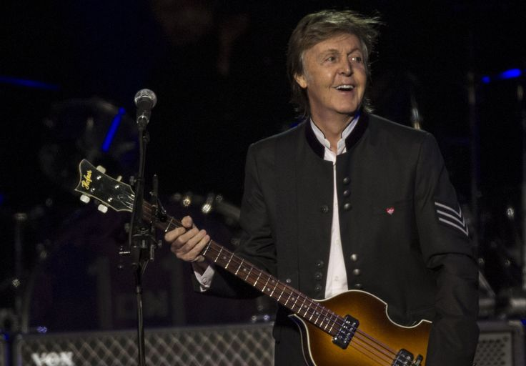 Paul McCartney performs during his 'One on One' tour at the Prudential Center. Newark, N.J., 9/11/2017. (Andre Malok | NJ Advance Media for NJ.com)