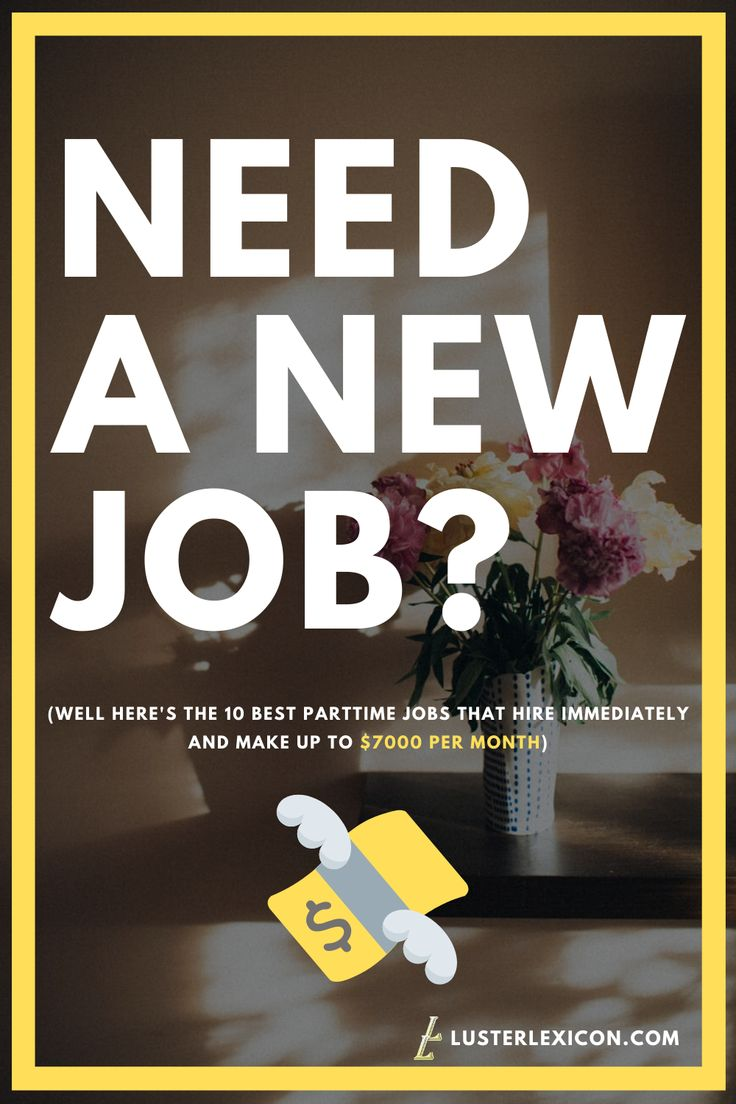 12 best parttime jobs online that pay well hiring now